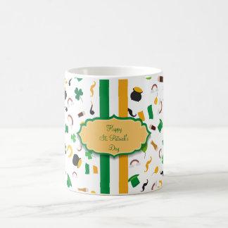 Luck of the Irish- St. Patrick's day irish items Basic White Mug