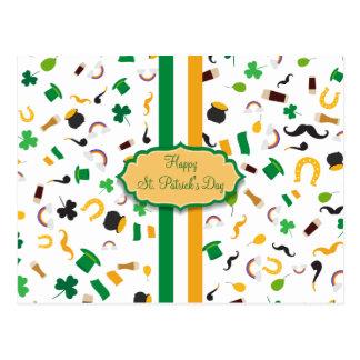 Luck of the Irish- St. Patrick's day irish items Postcard