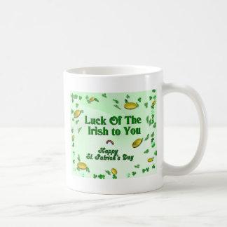 Luck Of The Irish To You Happy St. Patrick's Day Coffee Mug