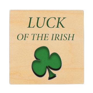 Luck Of The Irish Wood Coaster