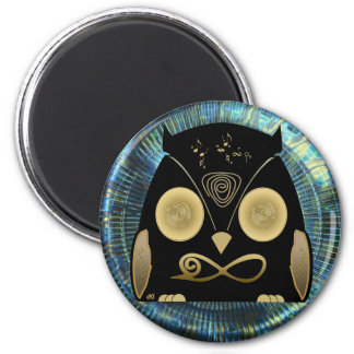 Luck Owl! eXi Refrigerator Magnets