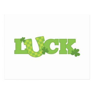 Luck Postcard
