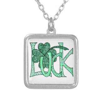 Luck Silver Plated Necklace