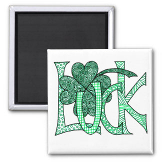 Luck Square Magnet