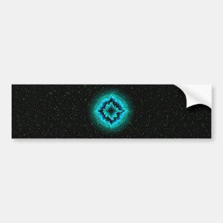 Luck Star and Asterisk Bumper Sticker