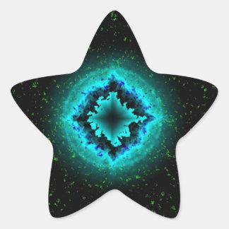 Luck Star and Asterisk Star Sticker