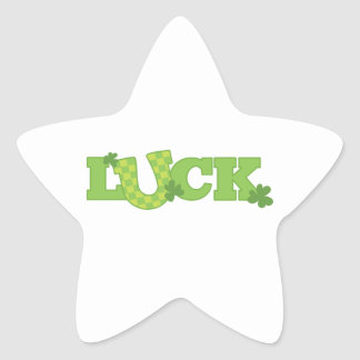 Luck Star Sticker