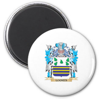 Luckes Coat of Arms - Family Crest Refrigerator Magnet