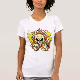 Lucky 13 Dice and Skull Tees