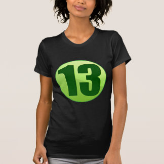LUCKY 13 GREEN PRODUCTS TEE SHIRTS