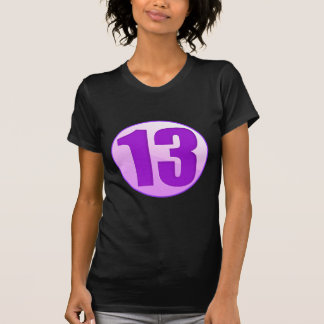 LUCKY 13 PURPLE PRODUCTS SHIRTS