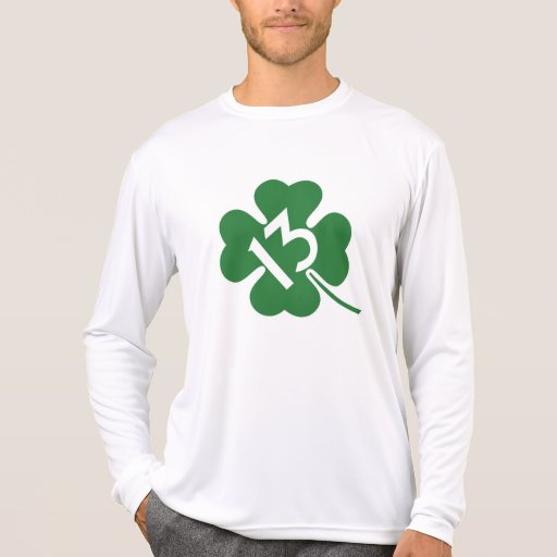 Lucky 13 shamrock tshirts