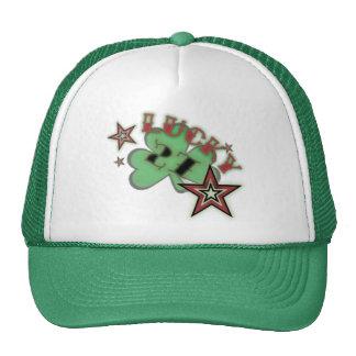 lucky 27 mesh hat