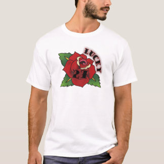 lucky 27 rose T-Shirt
