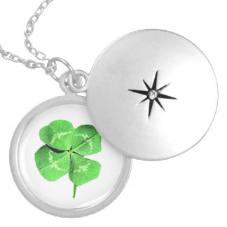 """Lucky 4 leaf clover"" Jewelry"