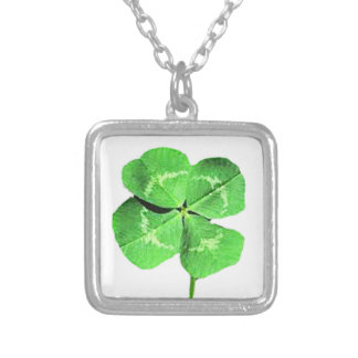 """Lucky 4 leaf clover"" Necklace"