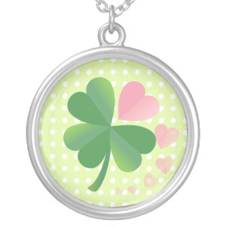 Lucky 4 Leaf Love Clover Necklace