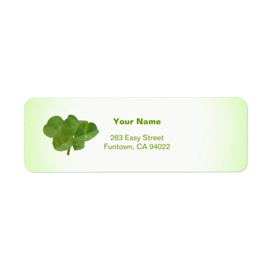 Lucky 6 return address label