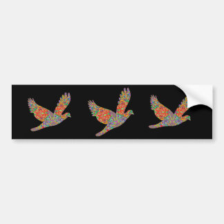 LUCKY Angel Bird Bumper Sticker