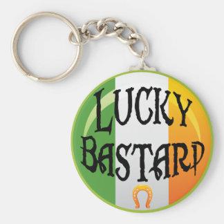 Lucky Bastard Key Chain