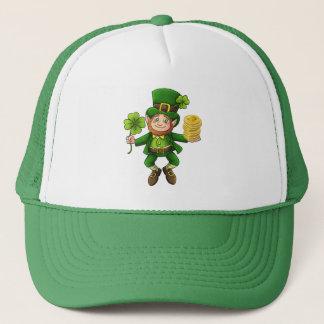 Lucky Bitcoin Leprechaun Trucker Hat