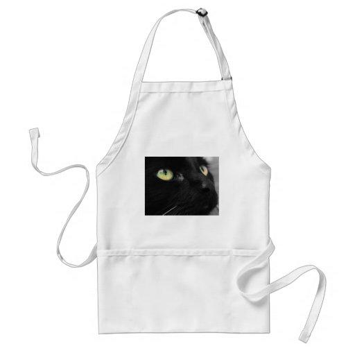Lucky Black Cat Apron