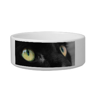 Lucky Black Cat Food Bowl