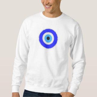 Lucky Blue Eye Men's Basic Sweatshirt