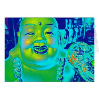 """""""Lucky Buddha"""" Card"""