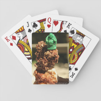 Lucky Buddha Crystal Stack Playing Cards