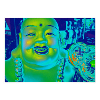 """Lucky Buddha Poster"" Poster"