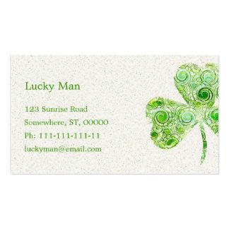 Lucky Business Card
