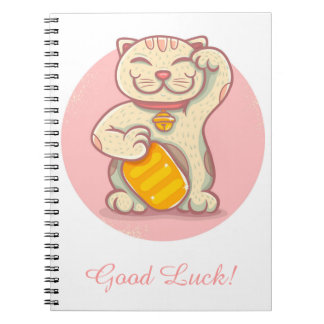 Lucky cat note books