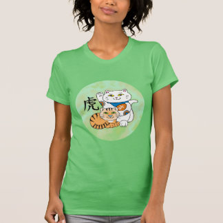 Lucky Cat Year of the Tiger Tees