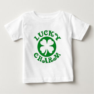 Lucky Charm Green/White Circle Baby T-Shirt