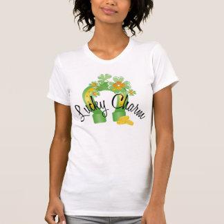 Lucky Charm Horseshoe T-shirt T-shirt
