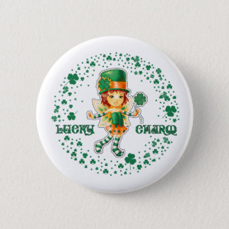 Lucky Charm. St. Patrick's Day Gift Buttons