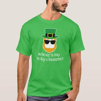 Lucky Charms? St Patricks Day Leprechaun (dark) T-Shirt