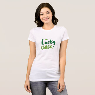 Lucky chick St. Patrick's Day T-shirt