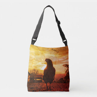 Lucky chicken crossbody bag