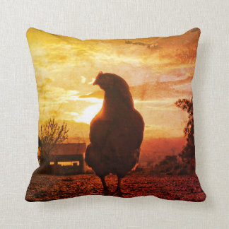 Lucky chicken cushion