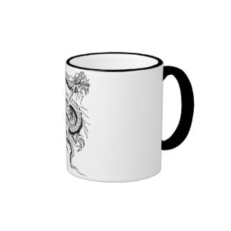 Lucky Chinese Dragon Coffee Mugs