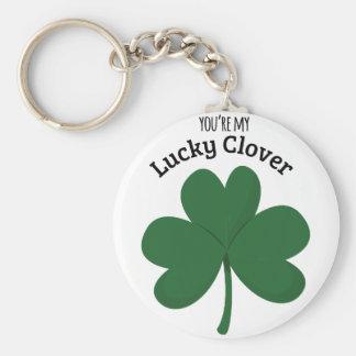 Lucky Clover Keychains