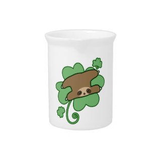 Lucky Clover Sloth Pitcher