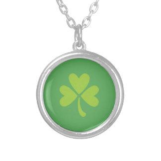 Lucky Clover St Patrick s Day Shamrock Necklace