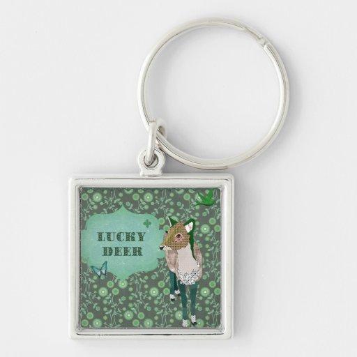 Lucky Deer  Keychain