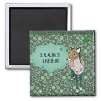 Lucky Deer Magnet