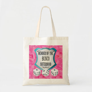 Lucky Dice  Pink United We Roll Tote Bag