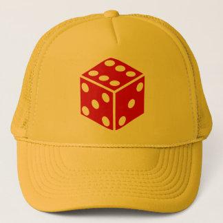 lucky dice trucker hat