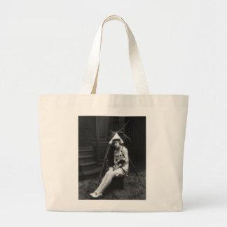 Lucky Dog, 1919 Jumbo Tote Bag